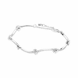 Pandora Sterling Silver 925 Not Applicable Link Bracelet - 598807C01-16