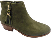 Wild Diva Olive Manny Boot