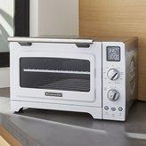 Crate & Barrel KitchenAid ® White Digital Convection Oven