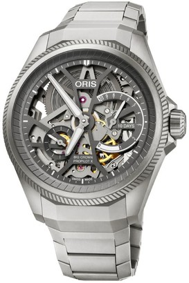 Oris Titanium Big Crown ProPilot X Calibre 115 Skeleton Watch 44mm