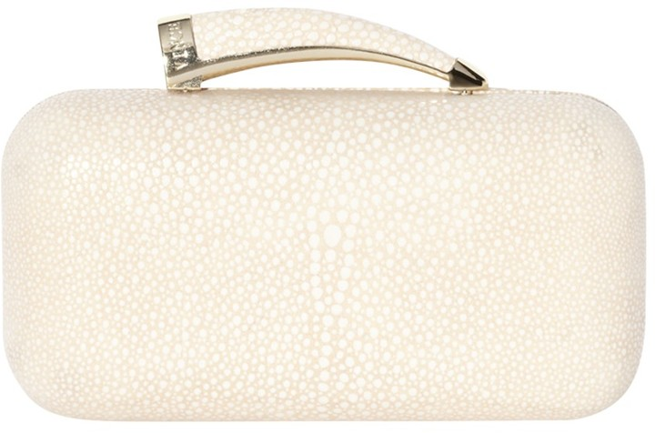 Vince Camuto Horn Clutch