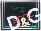 Dolce & Gabbana printed cardholder wallet