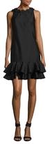 Shoshanna Silk Cocktail Short Dress