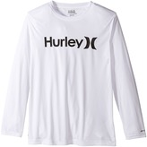 Hurley One Only Sun Protect Long Sleeve Tee Boy's T Shirt