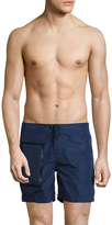 "Sundek 16"" Fixed Waistband Swim Shorts"