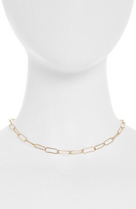 Kris Nations Large Link Chain Choker Necklace