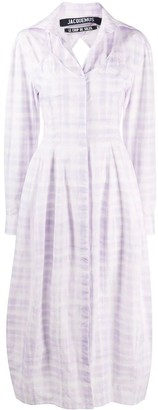 Jacquemus La Robe Valensole Dress Purple