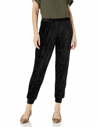 Only Hearts Women's Cut Velour Jogger