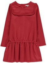 Chloé Milano Dress with Embroidered Bib
