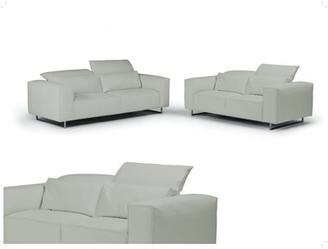 Bellini Modern Living Giadia Leather Loveseat Bellini Modern Living