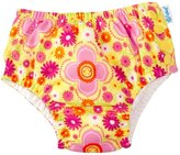 I Play Ruffle Snap Reusable Swim Diaper (Baby/Toddler) - Yellow Fiesta Floral - 18-24 Months