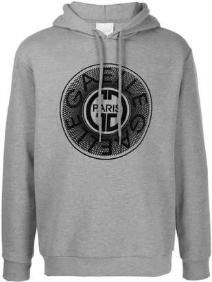 Gaelle Bonheur embroidered logo hoodie