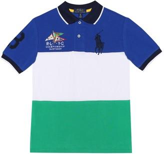 Polo Ralph Lauren Kids Cotton-pique polo shirt