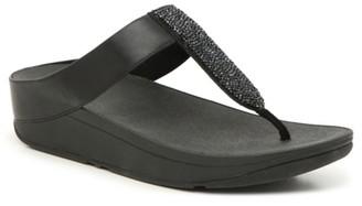 FitFlop Sparklie Crystal Wedge Sandal