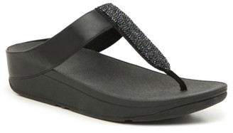 FitFlop Sparklie Crystal Wedge Sandal