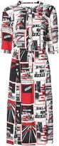 Sonia Rykiel printed shirt dress