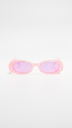Gucci Fluo Narrow Acetate Round Sunglasses