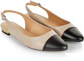 Accessorize Toe Cap Sling Back Ballerina Flat Shoes