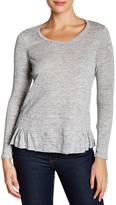 Rebecca Taylor Long Sleeve Jersey Tee