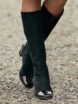 Pendleton Suede Dress Boots
