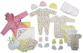 Bambini Newborn Baby Shower Layette Gift Set, 25pc (Baby Girls)