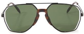 Alexander McQueen Sculpted frame sunglasses