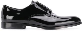 Doucal's patent Derby shoes