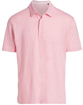 Saks Fifth Avenue COLLECTION Short Sleeve Polo
