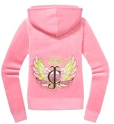 Juicy Couture Relaxed Jacket in Paisley Velour