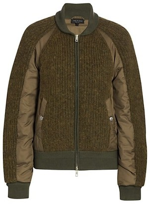 Rag & Bone Oakes Bomber Sweater