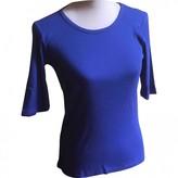 Les Petites Blue Cotton Top for Women
