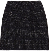 Structured tweed skirt