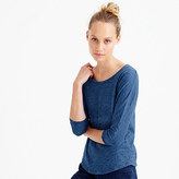 J.Crew Indigo vintage cotton T-shirt with drop sleeves