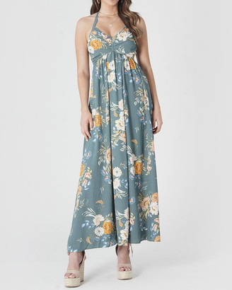 Amelius - Women's Green Maxi dresses - Delilah Floral Maxi Dress - Size One Size, 12 at The Iconic