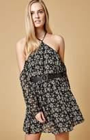 Lucca Couture Baxter Cold Shoulder Racerback Mini Dress