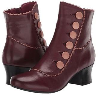 Miz Mooz Fido (Black/Grey) Women's Shoes