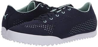 Puma Monolite Cat Engineered Mesh (Peacoat/Mist Green) Women's Shoes