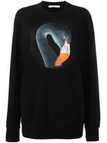 Givenchy Black Flamingo Printed Sweatshirt