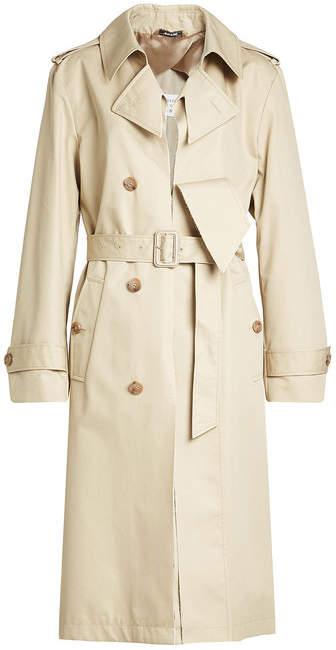 Maison Margiela Cotton-Blend Trench Coat