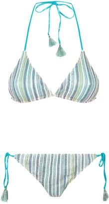 Missoni Mare Stripe Triangle Bikini