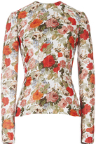 Emilia Wickstead Tallulah Rose Garden Long Sleeved Blouse