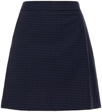 Paul Smith Gingham Cotton Mini Skirt