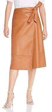 Lini Leah Leather Wrap Skirt - 100% Exclusive