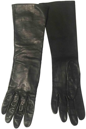 N. Non Signé / Unsigned Non Signe / Unsigned \N Black Patent leather Gloves