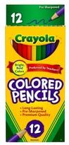 Crayola Colored Pencils, 12ct - Multicolor