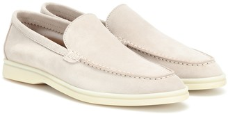 Loro Piana Lady Summer Walk suede loafers