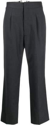 Maison Margiela cropped high waisted trousers