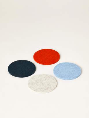 Graf Lantz Bierfilzl Round Felt Coasters, Set of 4