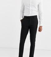 Asos Design DESIGN Tall skinny suit pants in black