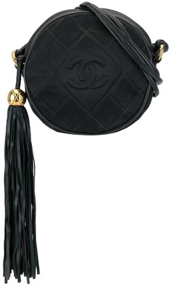 Chanel Pre Owned 1990s Quilted Tassel Crossbody Bag